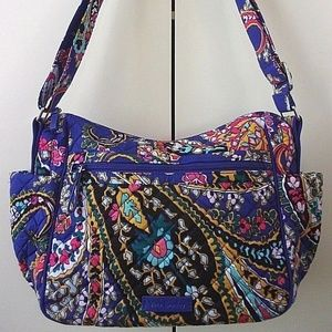 "Vera Bradley Iconic ""On the Go"" Crossbody shoulder"